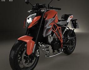 3D model KTM 1290 Super Duke R 2014