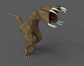 Rapoid Monster 3D asset realtime