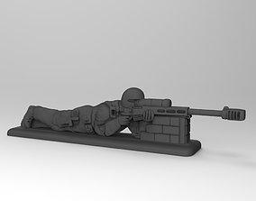 3D print model SOBR sniper 2