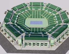 Tennis Center at Crandon Park - Miami 3D model