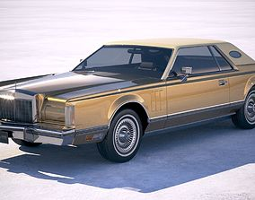 3D model Lincoln Mark V Continental