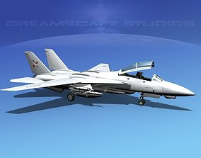 3D model Grumman F-14D Tomcat T05a VF103