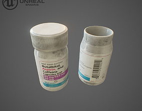 3D asset Medical pills