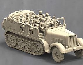 model sd kfz 7 1 3D printable model
