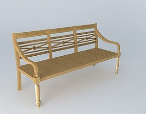 3D Bench MARIE GALANTE