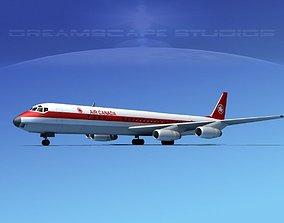 Douglas DC-8-63 Air Canada 3D