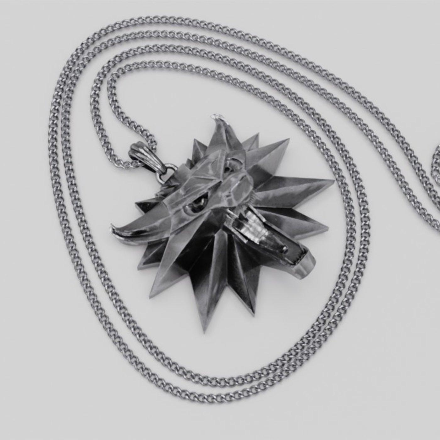 Witcher medallion pendant
