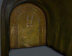 Quarantine tent entrance 3D model