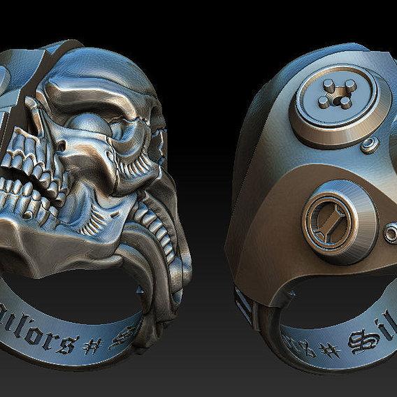 Skull gasmask