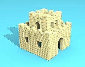 castle mini 3D printable model