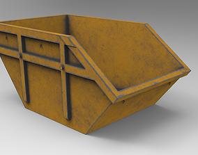 3D asset Dumpster LowPoly