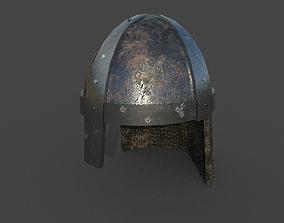3D model realtime Medieval Helmet
