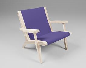 Chair Hanswegner 3D model