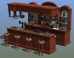 Saloon Bar 3D model