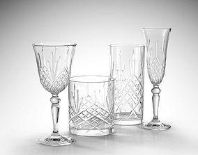 3D model RCR Melodia Glass Set