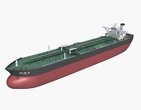VLCC Oil Tanker 3D model