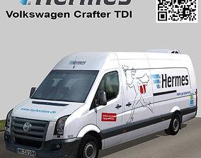3D model Volkswagen Crafter TDI Hermes
