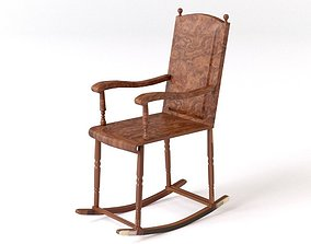 Rocking chair 3D furniture