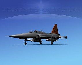 3D model Northrop F-20 Tigershark V05