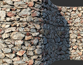 Rock Masorny vray material 01 3D model