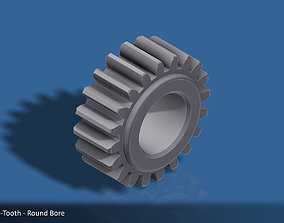 20-Tooth Spur Gear 03 3D print model