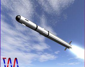 3D A-Darter Air-to-Air Missile
