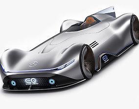 3D model Mercedes-Benz Vision EQ Silver Arrow Concept