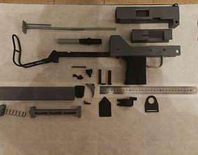 3D printable model Ingram MAC-10 submachine gun mechanical