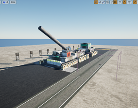 Vampire Faction Static Tank 3D model
