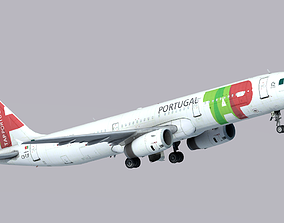 3D asset Airbus A321-200 TAP Air Portugal