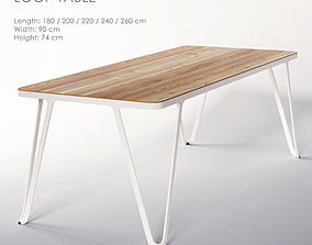 LOOP TABLE 3D model