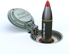 3D model Missile Silo