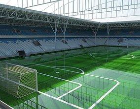 3D model Soccer Stadium 2