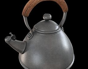 3D model rigged Teapot
