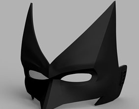 3D print model Batwoman Mask