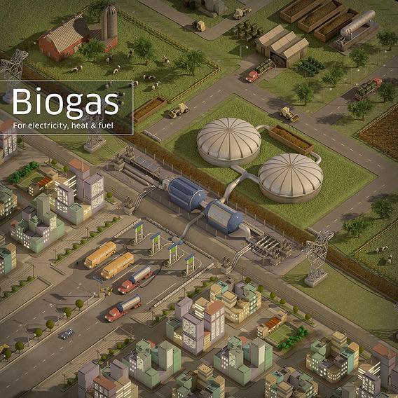 Biogas Energy - Poster