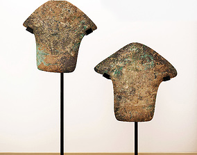 3D model Arrowheads Excavated