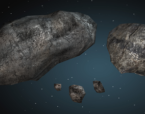 Asteroid pack 1 3D model