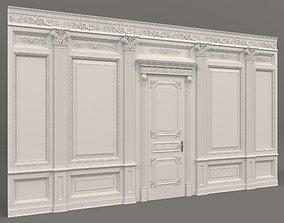 3D model Classic Interior Wall Decoration 3