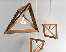 3D Lampenrahmen Herr Mandel Lamp