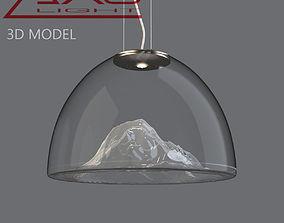 3D AXO Light Mountain View