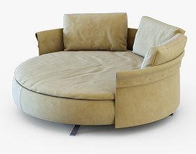 Sofa Charme-Longhi 3D