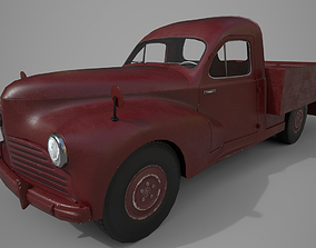 3D model realtime Retro Pickup