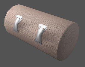 Elastic Bandage Clips Middle Beige 3D asset