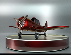3D animated Airplane