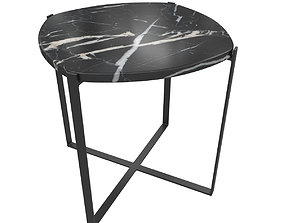 3D Laredoute - Arambol Side Table in Organic Marble