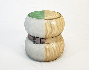 3D DIESEL Chubby Chic pouf S by Moroso