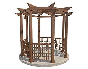 Pergola 17 3D model
