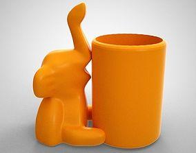 Elephant Pen Holder 3D printable model
