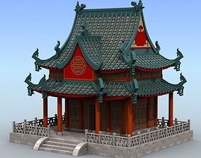 Chinese Architecture 04 3D